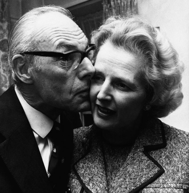Margaret Thatcher, Denis Thatcher
